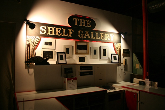 Artist Luke Vehorn at Redux Contemporary Art Center The Shelf Gallery Charleston South Carolina SC USA