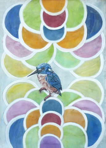 kingfisher, tantra, dots
