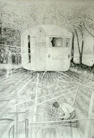 camper drawing