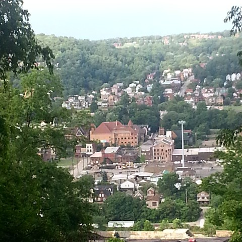 View from the Hills- Carnegie's Braddock