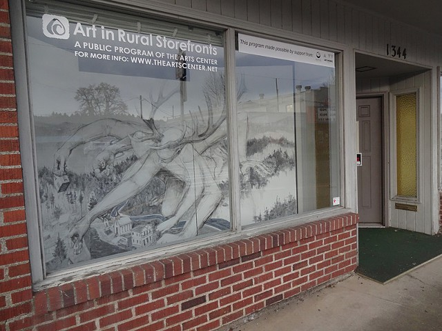 Art in Rural Storefronts 2012 - *Sweet Home*