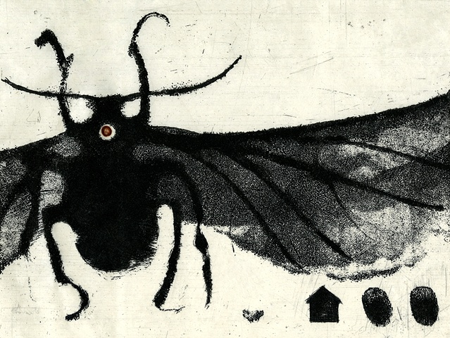 "Norma Seibert Scholarship Print ""Home Fly"""