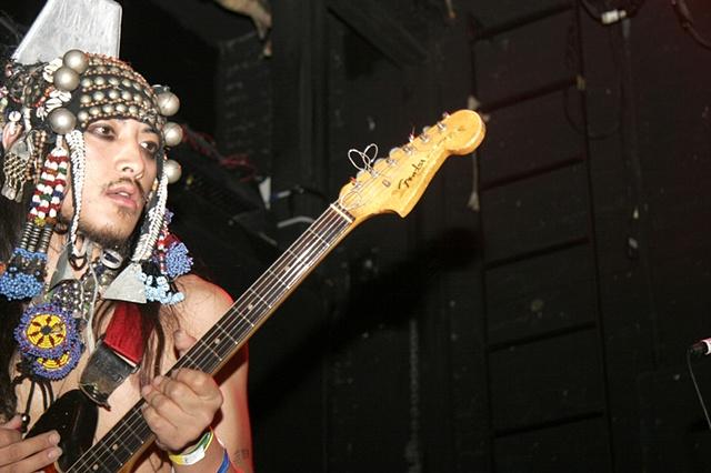 ebony bones guitar @ bowery ballroom