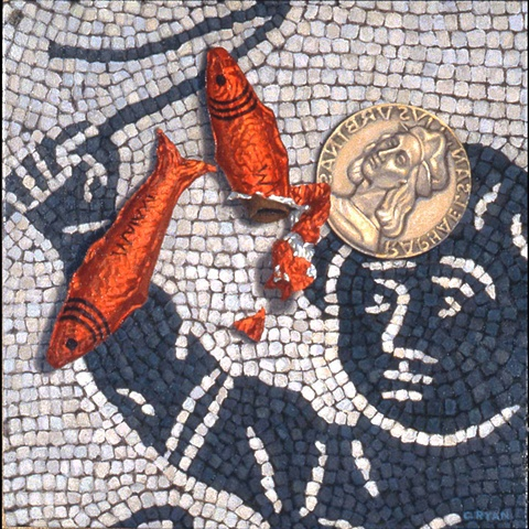 Fish & Medallion