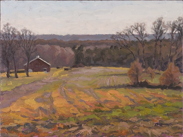 View towards Garrettsville, late autumn