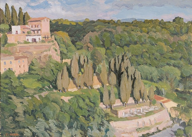 Pitigliano view