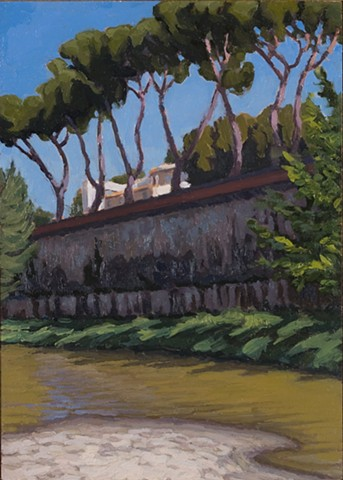 Arno River Bank, Florence