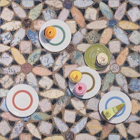 Torcello Plates  Pavimenti series