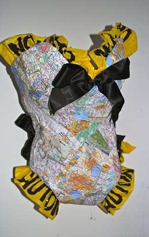 Wearable map malliot