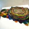 Layered Fabric Sculptures