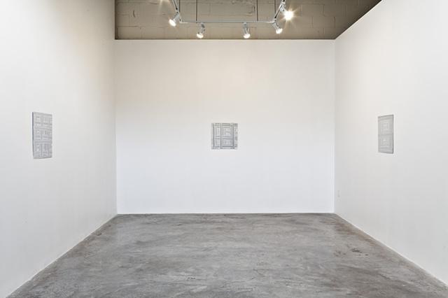 White Paintings - Diaz Contemporary