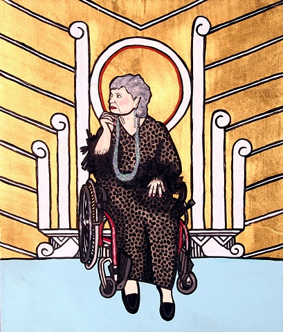 St. Bubbie of Miami Beach, Patron saint of bagels, Bubbies and the disabled