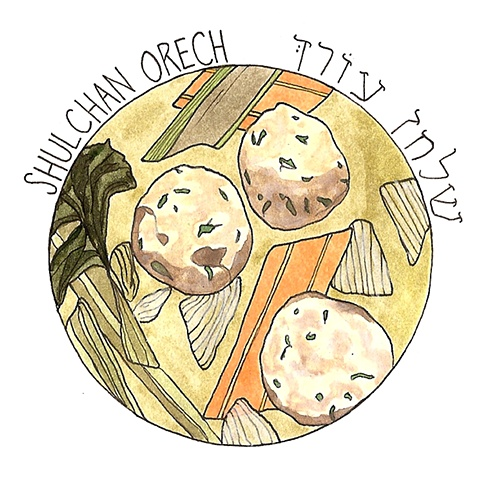 Shulchan Orech- Eat the festival meal