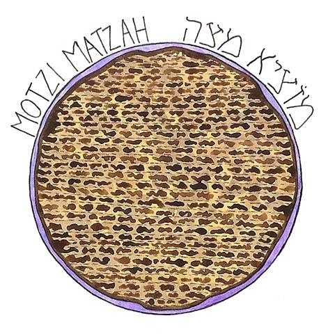 Motzi Matzah- Eat the matzah
