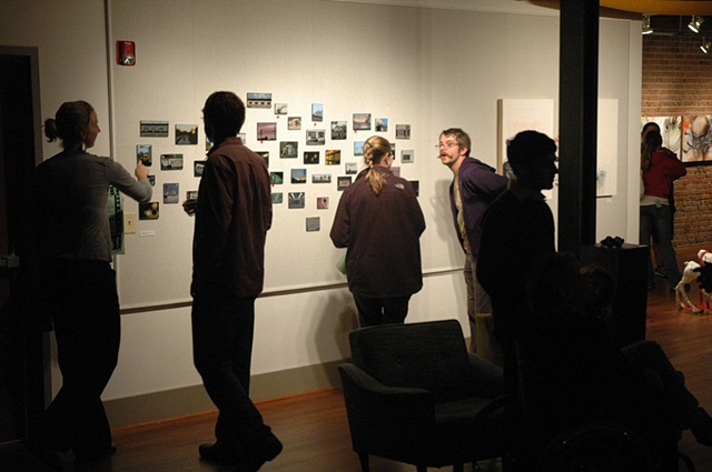 Installation View, Hub-Bub Artist-in-Residence Exit Show