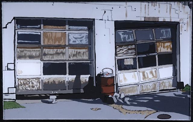Garages, Mill Spring