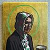 St. Misha with Tea, Patron saint of Russia, creativity and community