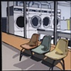 Coin Laundry (close-up)