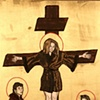 Mom (Crucifixion, with David and Rachel)