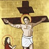 Dad (Crucifixion, with Lesli and Gussie)