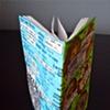 Gabriel Zohar Steinberg, birthday notebook, spine view