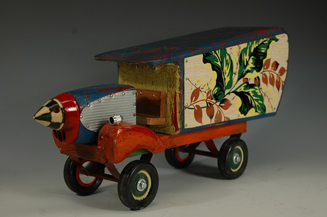 Autumn Leaves Truck - SOLD