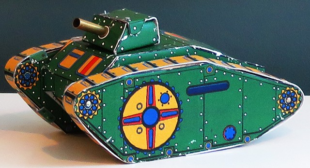 Think TANK tin toy