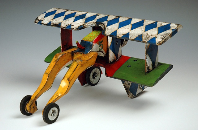 Blue Diamond Biplane - SOLD