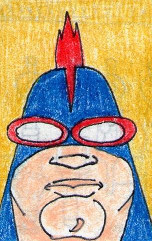 Overweight Superhero