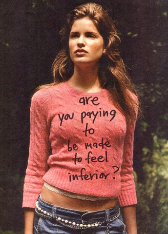 Paying to Feel Inferior