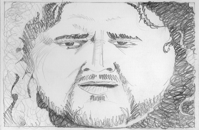 Portrait of Hurley (Dude, What?)