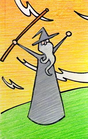 Gandalf Conjures a Spell