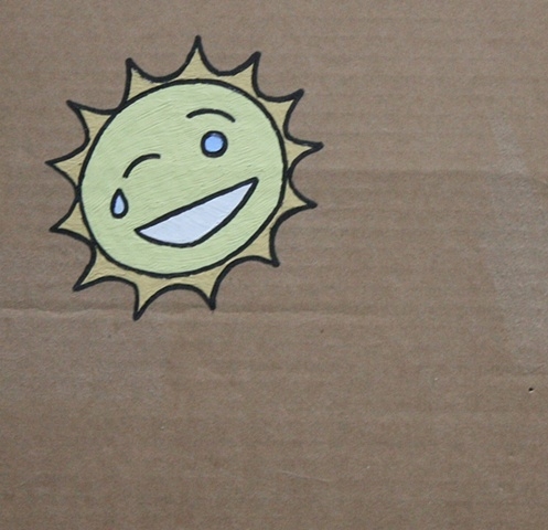 The Sun is Laughing so Hard that He's Crying