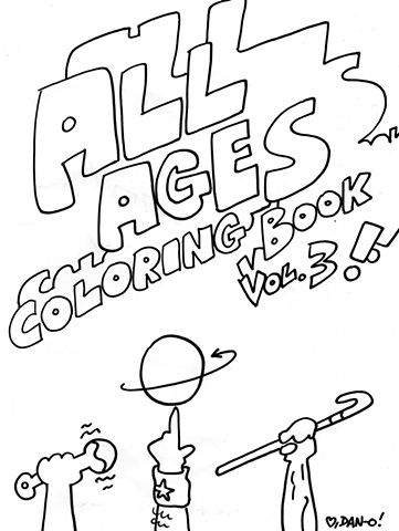 All Ages Coloring Book #3