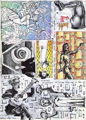 After Klimt, Kley, and O'Keefe