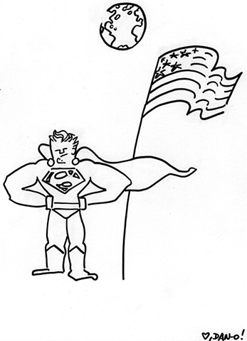 Supes on the Moon