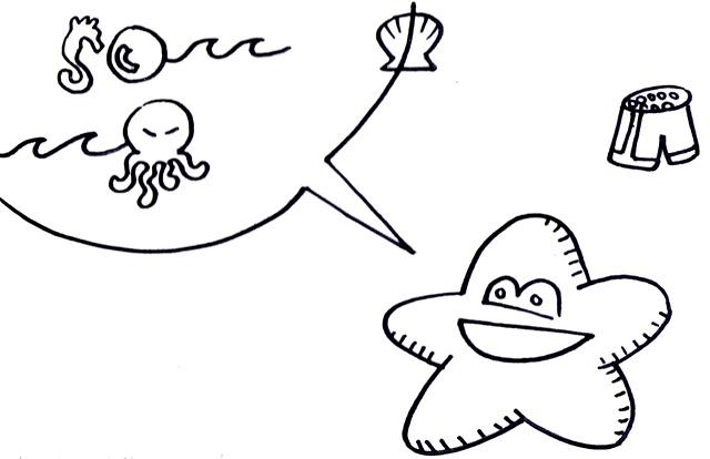 Starfish Tells a Funny Story