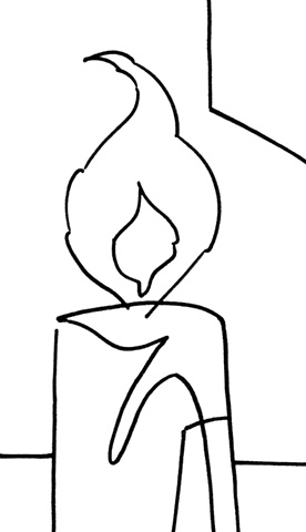 Candlelight Still Life