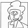 Cyclops Businesswoman