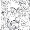 Self-Portrait with Pac-Man Motif