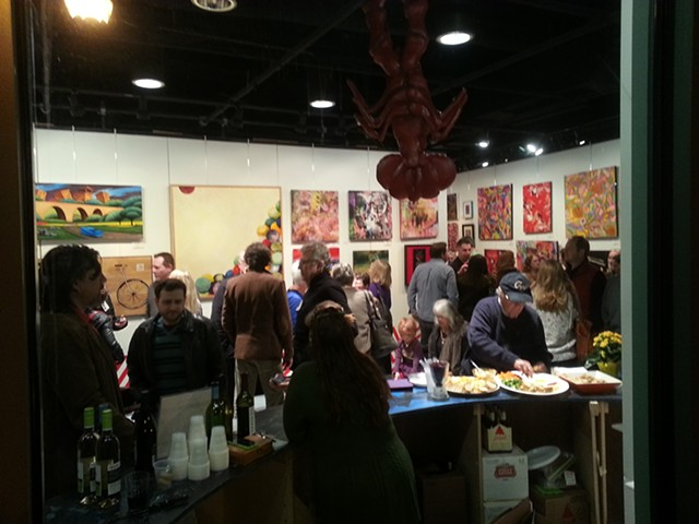 Bold And Bright Artspace at Falls Church (Curator)