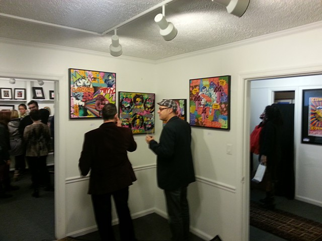 Artbot Gallery at Marlowe Ink Official Opening