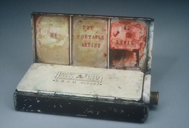 The Portable Artist Detail: Half Open