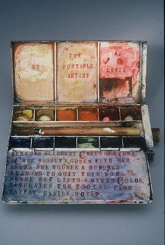 The Portable Artist Detail: Open Book