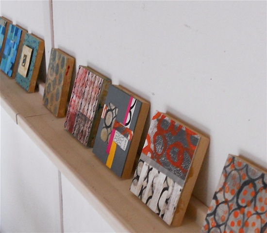 studio: small wall