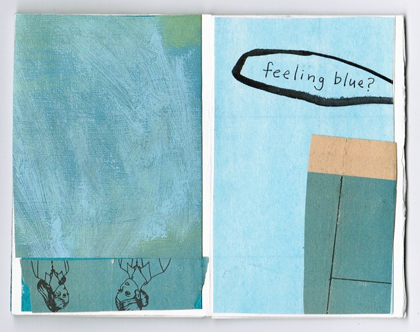 Feeling Blue? Pages 4-5
