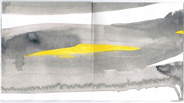 Yellow Gray Streak Covers