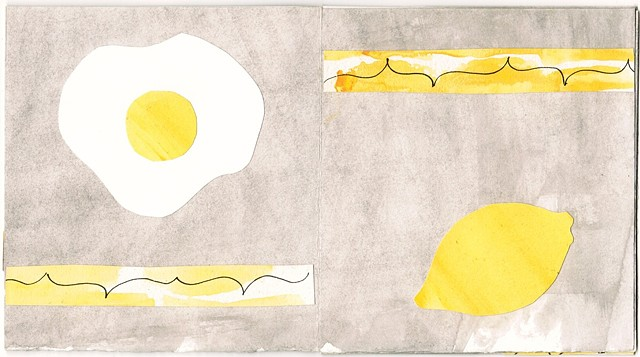 Yellow Detail Egg/Lemon