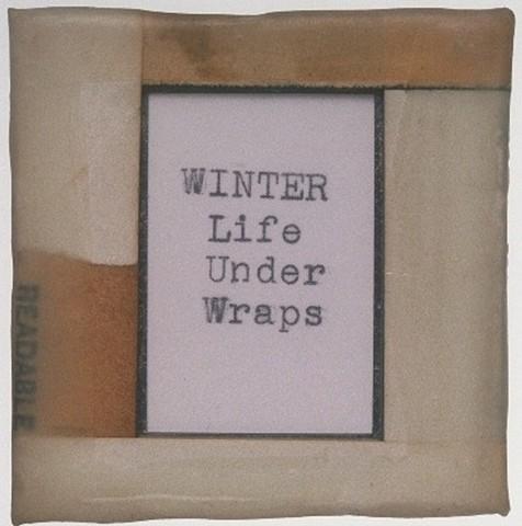 Winter Under Wraps Detail