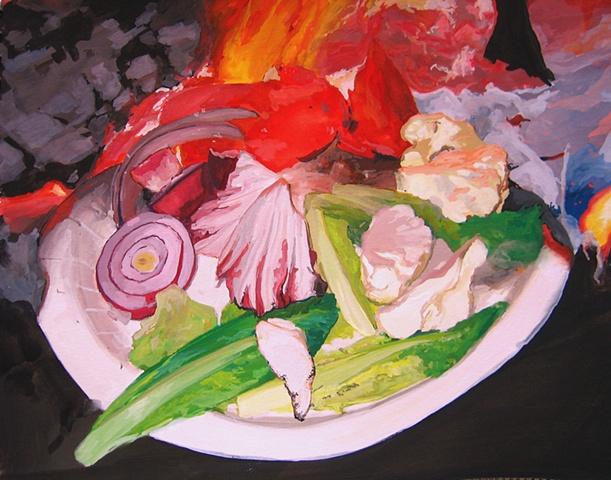 Burning Salad